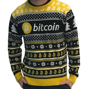 bitcoin ugly christmas crypto sweater