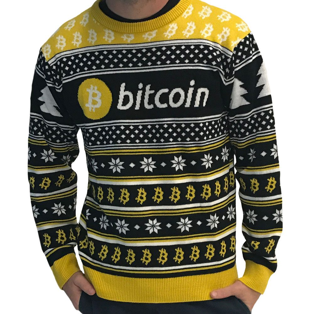 bitcoin sweater