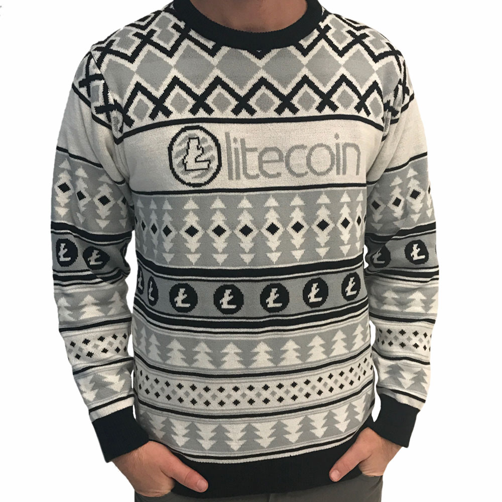Ugly Christmas Sweaters.Litecoin Sweater