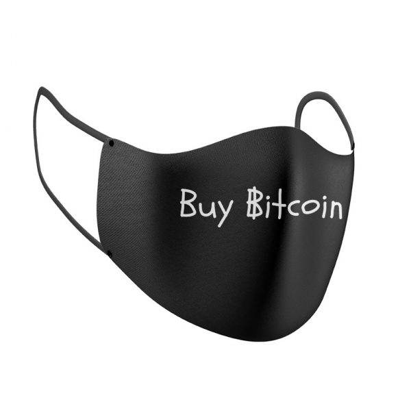 Buy Bitcoin Face Mask